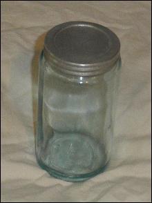 Hoosier Jars Blue Color