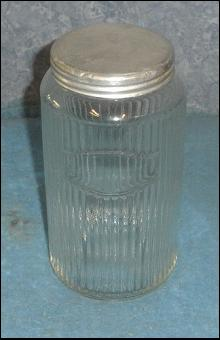 Hoosier Jar Ribbed