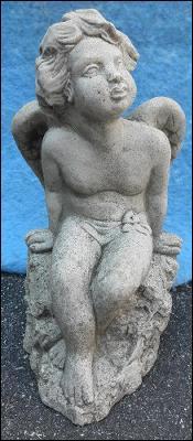 Statue - Angel on Rock