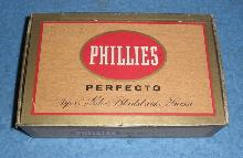 Phillies Perfecto Wooden Box