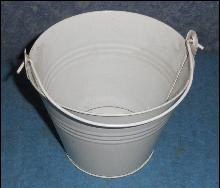 White Pail Small B5249