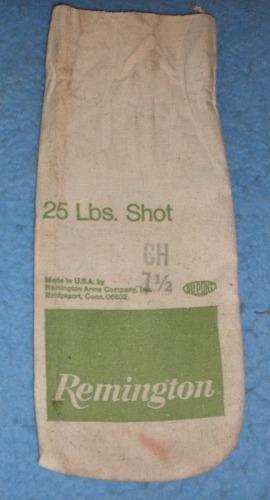 Sack Remington 25# Shot
