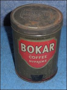 Coffee Tin Bokar Supreme