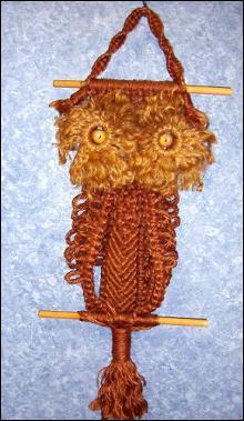 Owl - Macrame