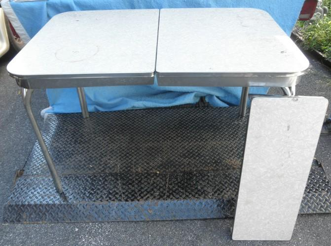 Kitchen Table Chrome Legs