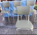 Chairs w Chrome Legs