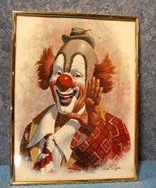 Ringo The Clown- Print  B2955