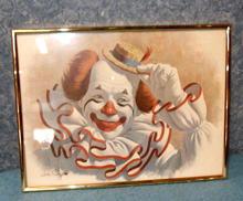 Elmo The Clown - Print