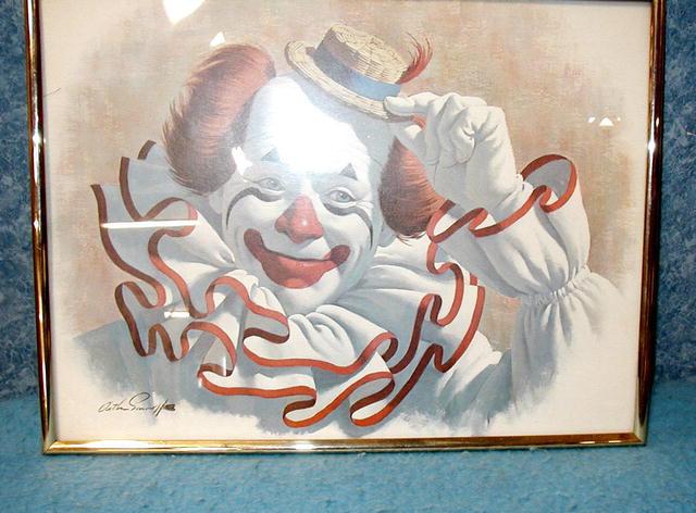 Elmo The Clown - Print  B2956
