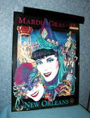 Mardi Gras 1992 - Lighted Picture