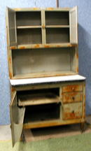 Antique Hoosier Cabinet - Original Finish
