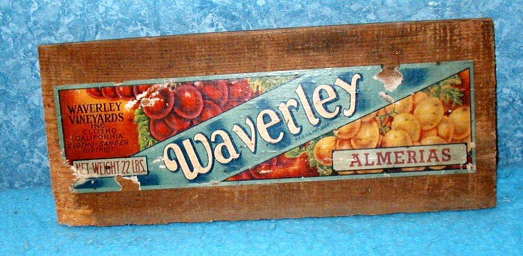 Box End - Waverly Vineyards,