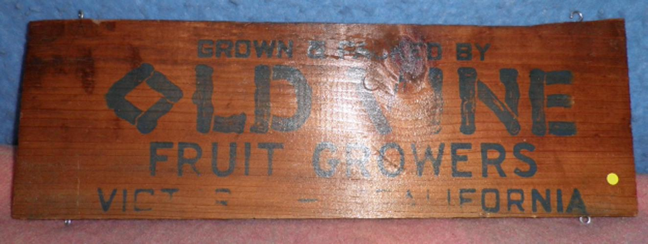 Box End - Old Vine Fruit Growers