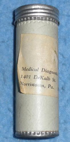 Diagnostic Center Tube
