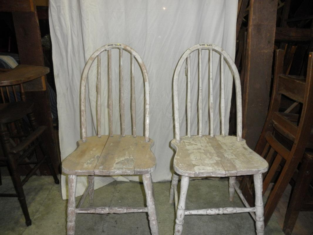 B1589  Vintage/Antique  Set of (2) chairs