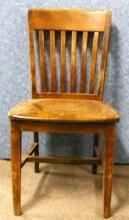 B2400  Vintage/Antique Single Solid Chair