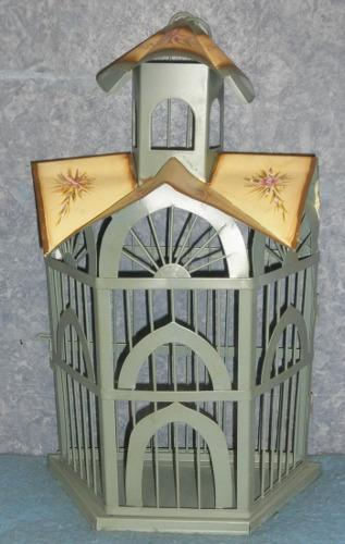 Y1031  Vintage Wall Birdcage Planter