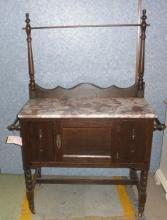 Wash Stand with Marble Top