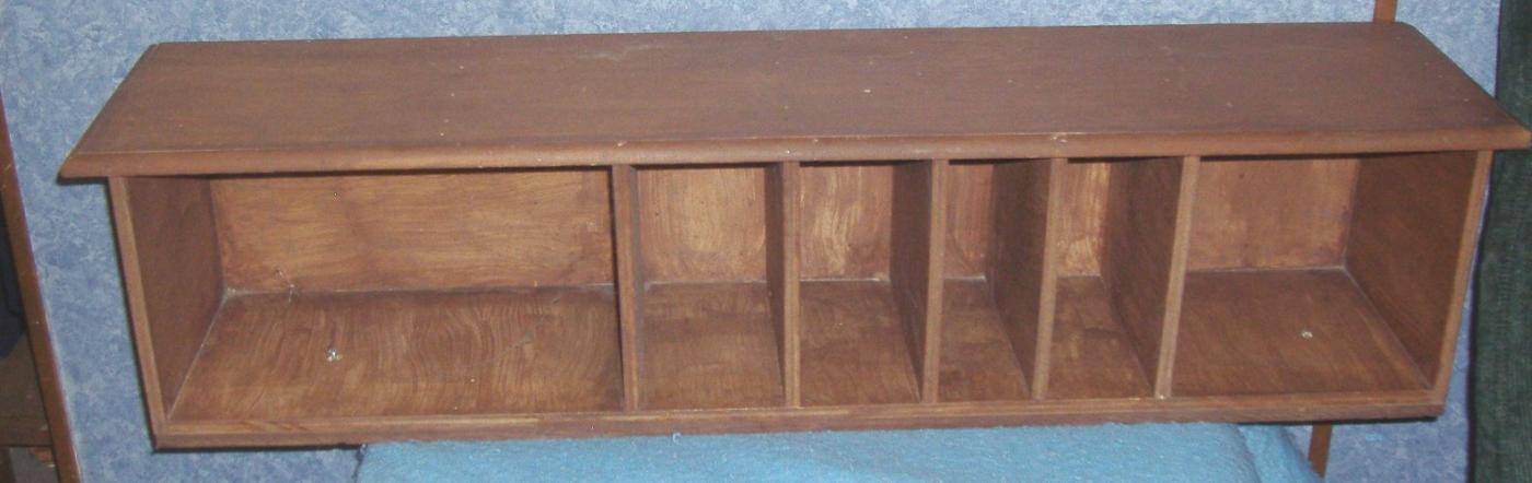 Wooden Slot Holder