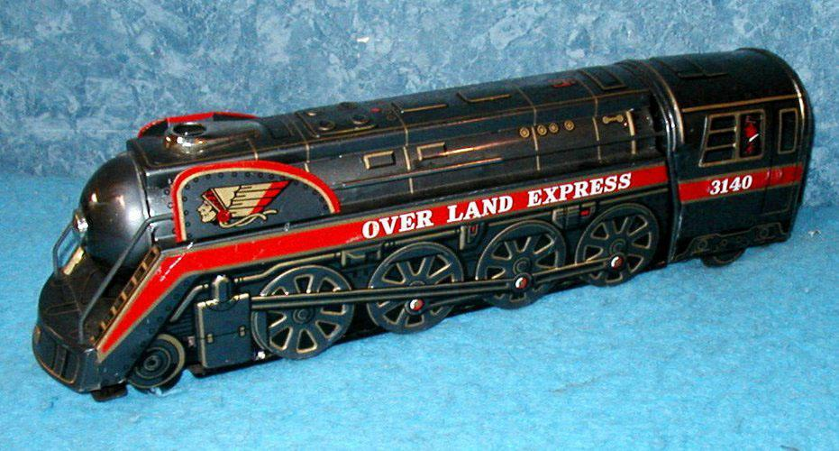 Locomotive Overland Express 3140   B3163
