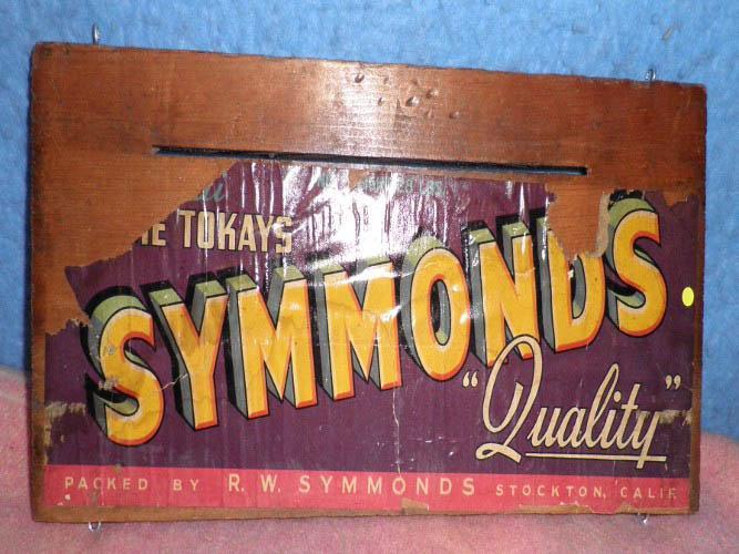 Box End R. W. Symmonds