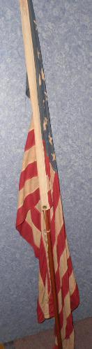 American Flag & Pole B4671