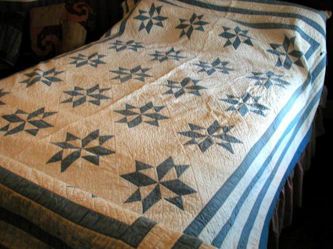 Blue Star Quilt B91