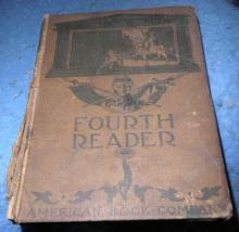 Book, Fourth Reader B4701
