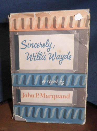 Book, Sincerely Willis Wayde B4807