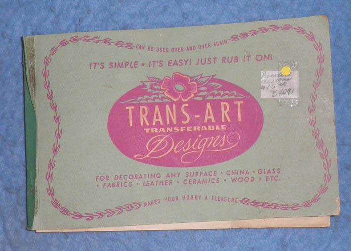Book--Trans Art Designs B4071