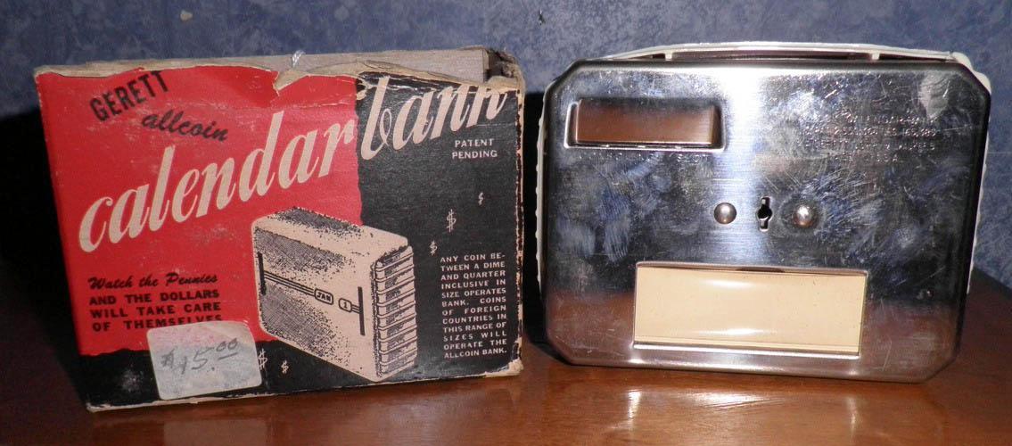 Calendar Bank And Box B4645