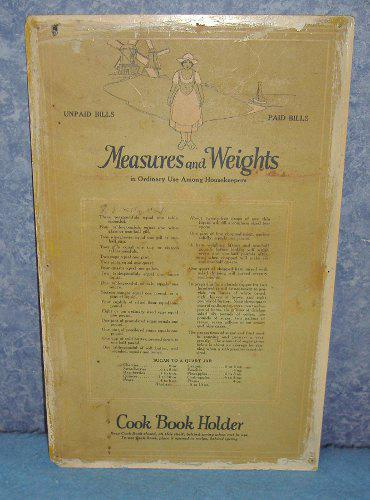 Charts for Hoosier - Weights & Measures B3841
