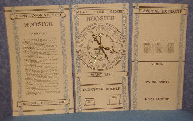 Charts for Hoosier (Set of 3) B3847