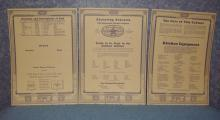 Charts for McDougal Cabinet (Set of 3) B3846