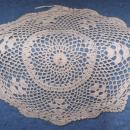 Doily - Ecru - Crochet - Delicate B4695
