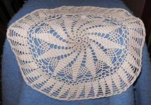 Doily - Large - Round - Ecru - Crochet B4696