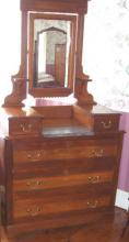 Dresser With Marble B3549