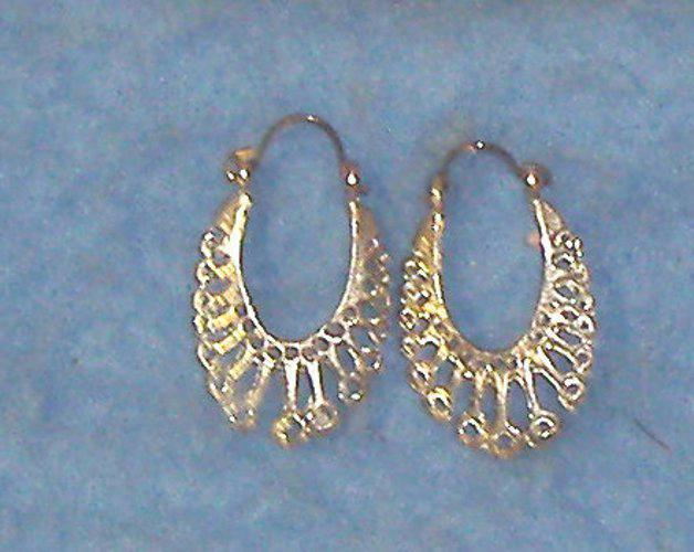Earrings - Silver B3423
