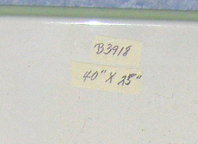 Enamel Hoosier Work Top B3918