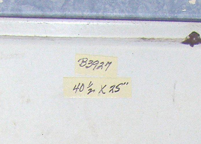 Enamel Hoosier Work Top B3927