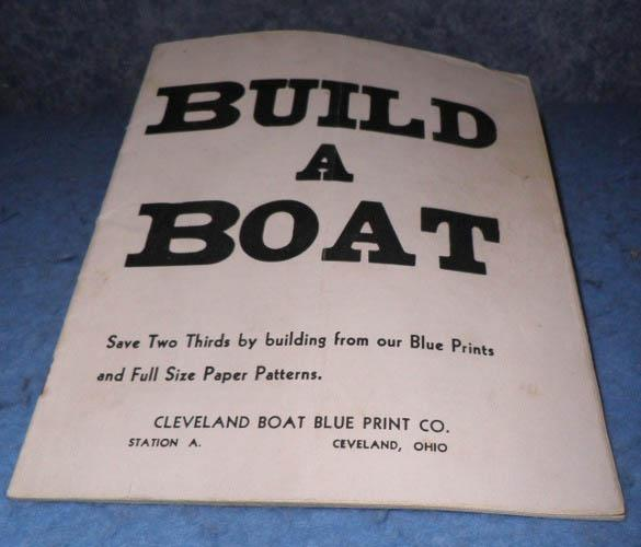 How To Build A Boat - 1939 - Instruction And Print Book B4635