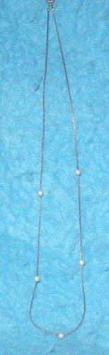 Necklace - Pearl & Gold B3144