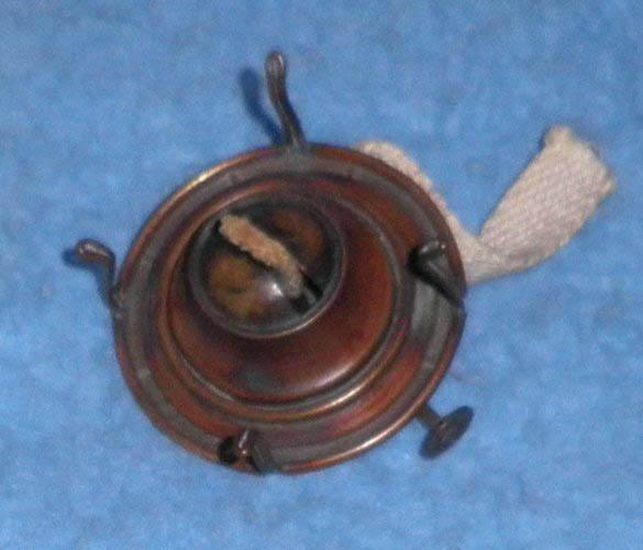 Oil Lamp Top And Wick L114