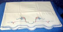 Pillowcase Set - Blue Edge B3490