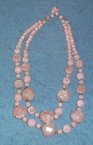 Pink Necklace B4217