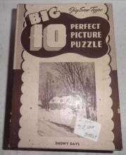 Puzzle, Snowy Days B3867