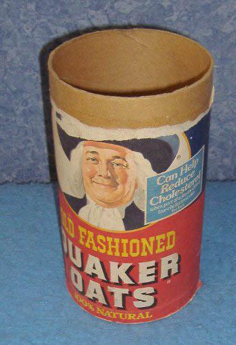 Quaker Oats Box - No Lid B3774