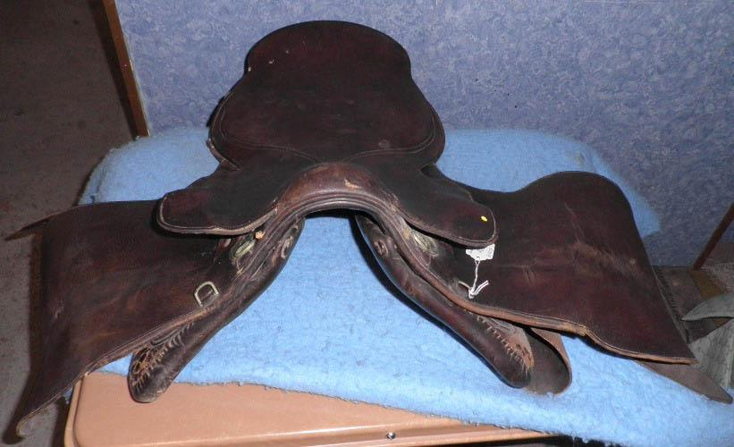 Saddle, English B4854