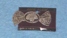 Silver Fan Hair Clip B3629