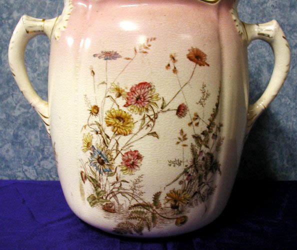Urn--Large Pink Floral B2660